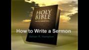 Thumbnail How to Write a Sermon Collection